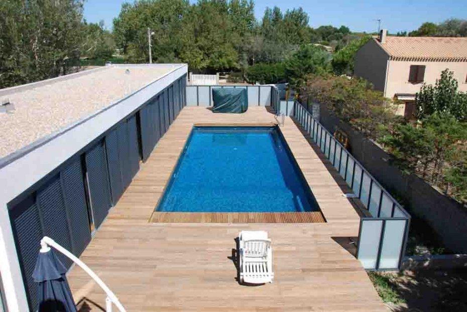 R alisation piscine en p te de verre dolce mosaic zaffiro - Carrelage piscine pate de verre ...