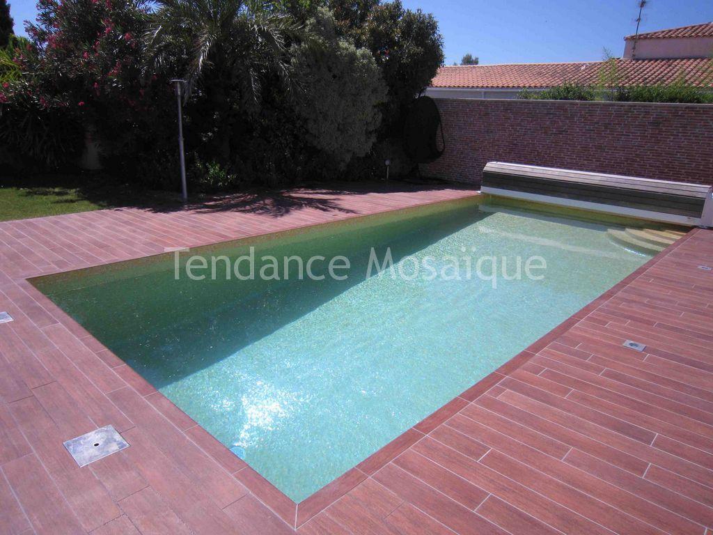 mosaique p te de verre orange pour piscine. Black Bedroom Furniture Sets. Home Design Ideas