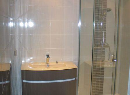 Carrelage mosa que pate de verre salle de bain douche for Faillance salle de bain