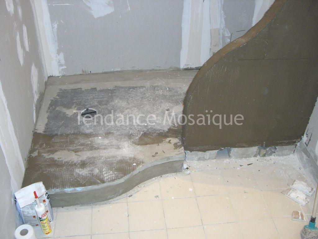 Salle de bain p te de verre bisazza laura joint epoxy for Pate de verre salle de bain