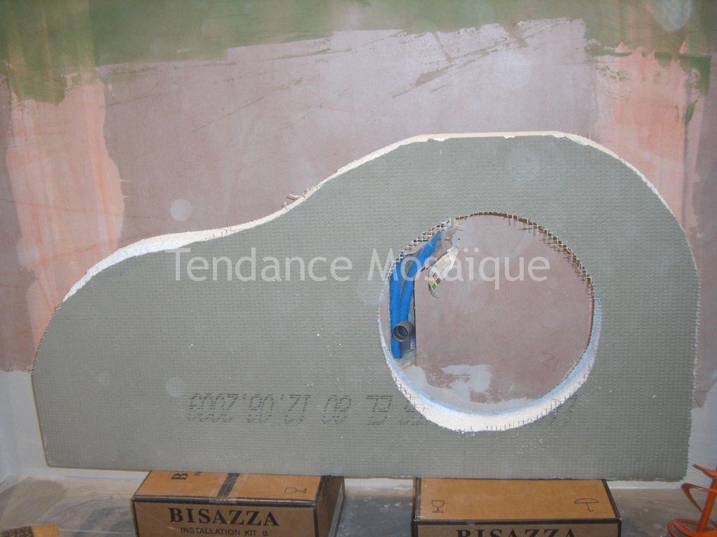 salle de bain p 226 te de verre bisazza joint epoxy