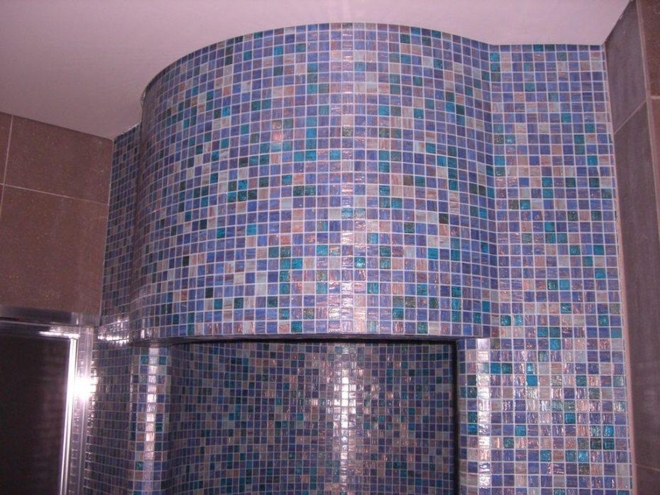 mosa que douche en p te de verre emaux verre salle de bain. Black Bedroom Furniture Sets. Home Design Ideas