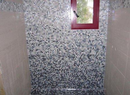 carrelage mosa que pate de verre salle de bain douche italienne. Black Bedroom Furniture Sets. Home Design Ideas