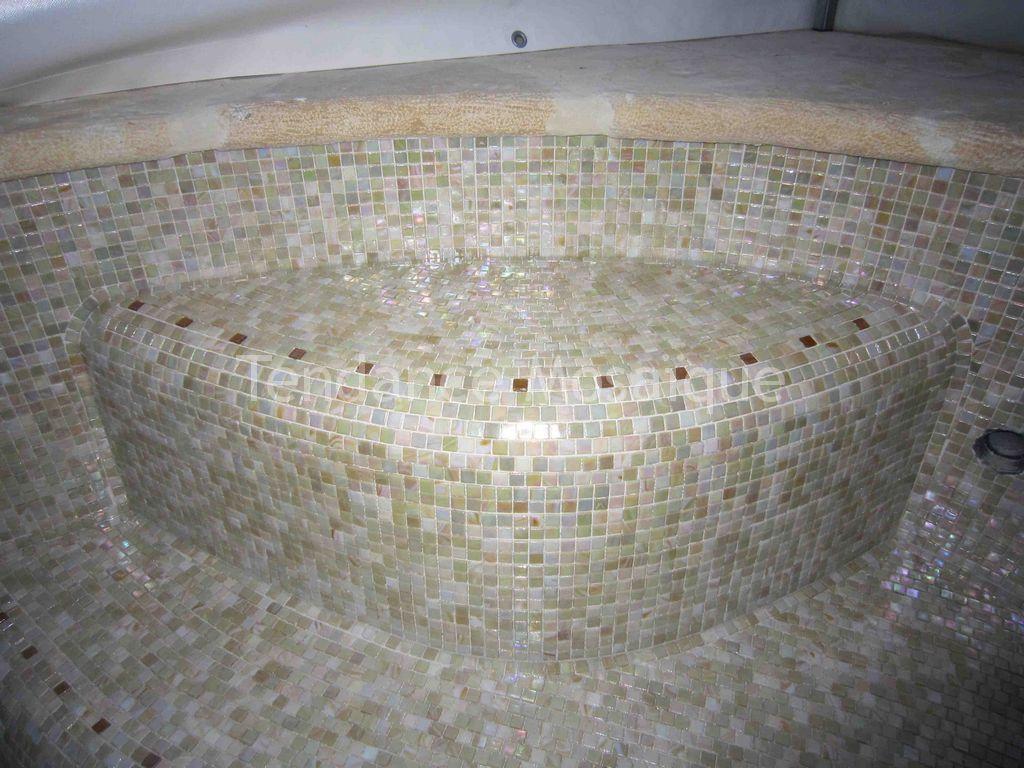 piscine p te de verre dolce mosaic sabbia mosaique. Black Bedroom Furniture Sets. Home Design Ideas