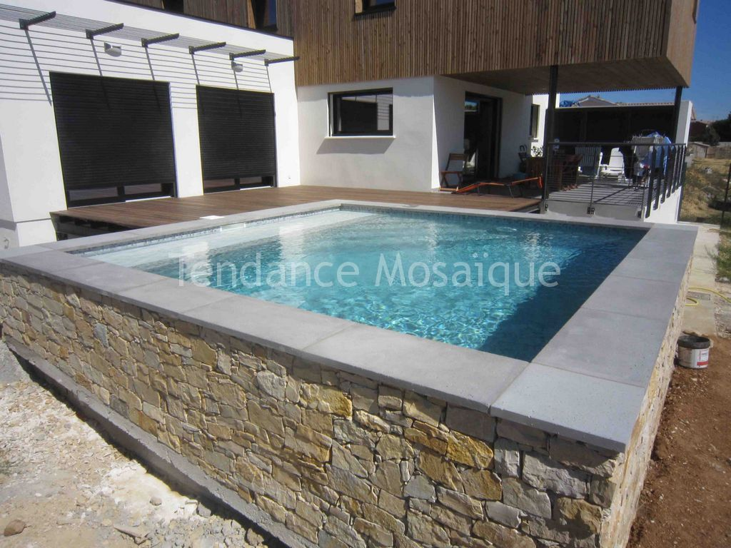 piscine p te de verre dolce mosaic marquises. Black Bedroom Furniture Sets. Home Design Ideas