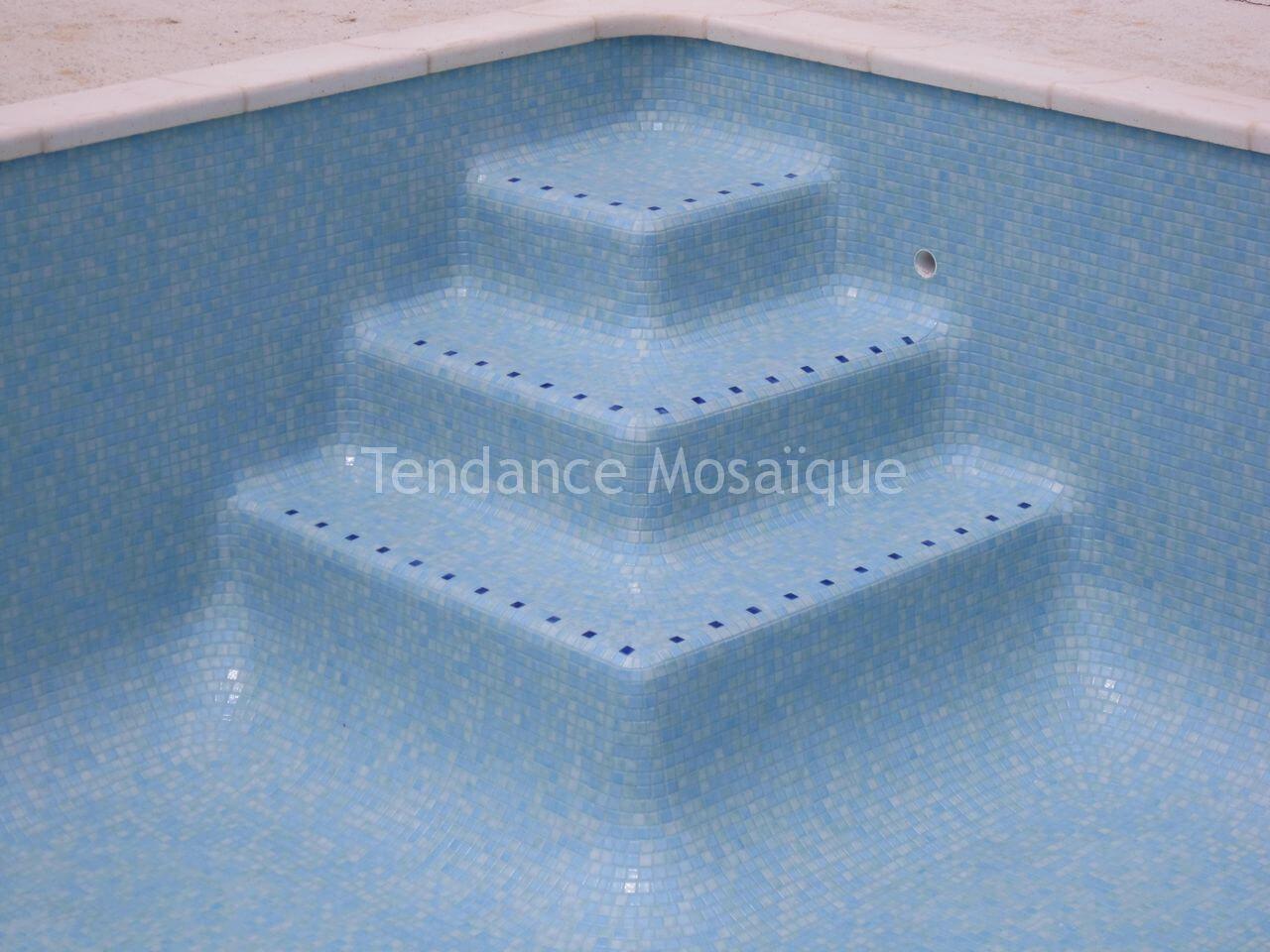 piscine emaux de verre ezarri 2518b bleu vert m lang. Black Bedroom Furniture Sets. Home Design Ideas