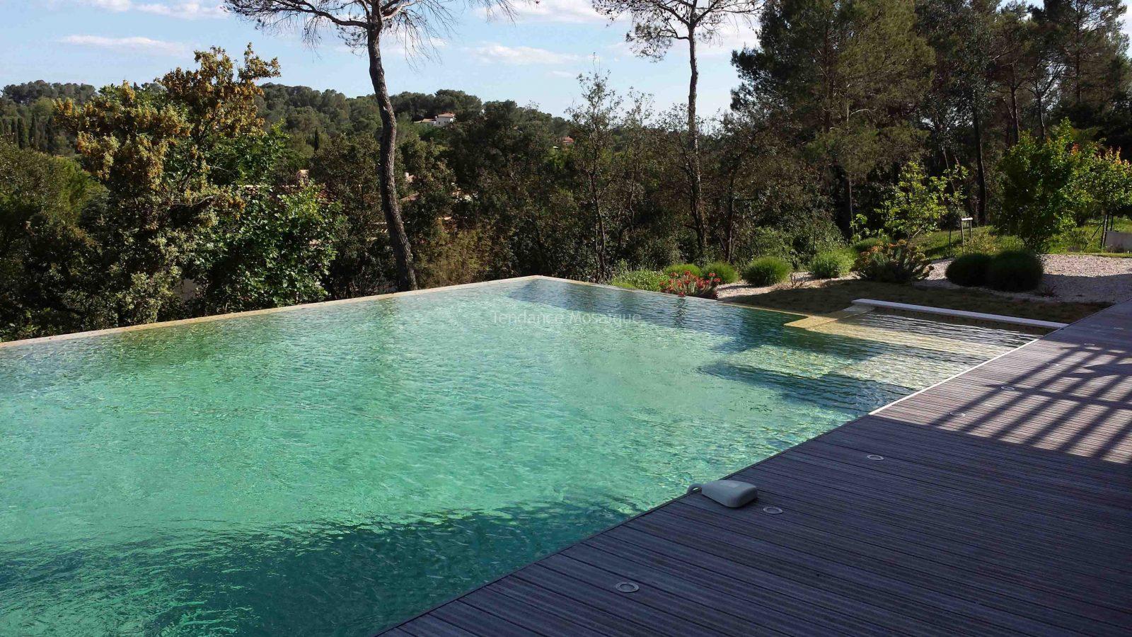 piscine r alis e p te de verre dolce mosaic oasis. Black Bedroom Furniture Sets. Home Design Ideas