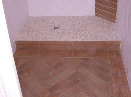 Carrelage mosa que pate de verre salle de bain douche for Faillance de salle de bain