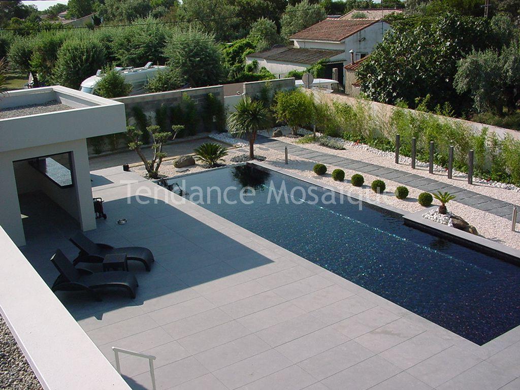 piscine r alis e en p te de verre dolce mosaic. Black Bedroom Furniture Sets. Home Design Ideas